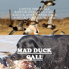 Cd Call, Duck Hunting,Duck Calls, Feeding,Greeting, Open Water & Come Back Calls