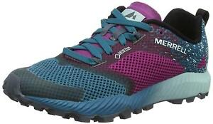 New Womens Merrell All Out Crush 2 Knit Lightweight Running Trainers UK 6.5