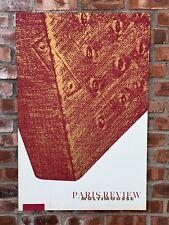 1965 Signed Silk Screen By Pop Art Sculptor Claes Oldenburg. The Paris Review