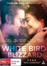 White Bird in a Blizzard - Shailene Woodley DVD NEW