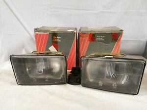 Pair Lights Front Right Left Fiat 147 FIAT127 Rustic Brazilian Front Headlights