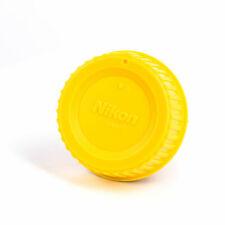 Yellow Color Camera Rear Lens cap for Nikon AI AF F