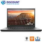 "Lenovo T440s 14"" Hd Laptop Pc Core I5 8gb 256gb Ssd Webcam Wifi Windows 10 Pro"
