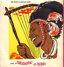 "BUNDE AWINO - KENYA CLASSICAL HARP - HEARTBEAT OF AFRICA (VINYL EP 7"")"