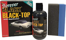 Forever Black Black Top Gel With Applicator Black Convertible Top Dye For Rest