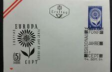 BUSTA FDC EUROPA CEPT 1964 AUSTRIA RB01