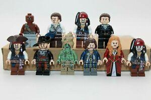 Lego Pirates of the Caribbean / Fluch der Karibik Minifiguren / Sammlung Piraten