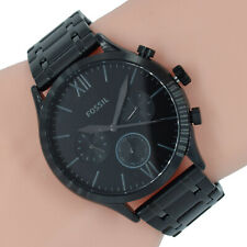 Fossil Herren Uhr Chronograph BQ2365 Fenmore Midsize schwarz Edelstahl