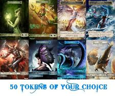 50 Pack Custom Altered Tokens of YOUR CHOICE MTG 10% DISCOUNT