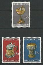 Liechtenstein Mi.Nr. 587-589** (1973) postfrisch/Schatzkammer des Fürstenhauses