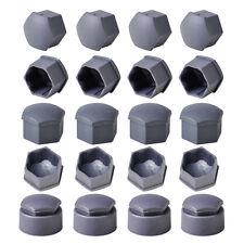 OEM FOR AUDI VW SKODA 16X Wheel Lug Nut Center Cover & 4X Locking Types Caps