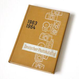VGP Deutscher Photokatalog 1963 / 1964 * Großhandelskatalog; Daten Bilder Preise