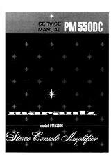 Service Manual-Anleitung für Marantz PM-550 DC
