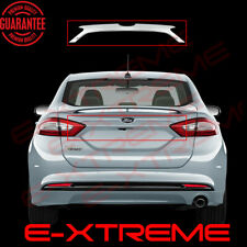 FOR FORD 2014 2015 2016 FUSION REAR TRIPLE CHROME LOGO AREA COVER TRUNK MOLDING