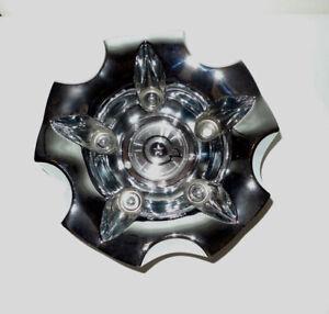 Dropstar Luxury Wheel Collection Chrome Rim Center Cap No Bolt