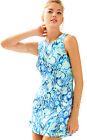 NWT Lilly Pulitzer Indigo Sunset Swim Mila Shift Dress, Sz 10, $178