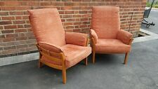 Pair of ERCOL Armchairs (local delivery possible)