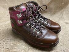 Timberland Hiker Women Brown Pink Purple Hiking Ladies Boots Shoes Sz 8M EUC!
