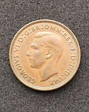 1938 Great Britain Georgivs VI Copper Penny - One Cent