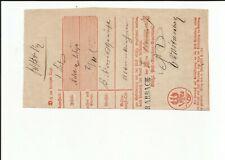Preußen/Trarbach L1 1857 on Left Somewhat Beschnittenem Postschein