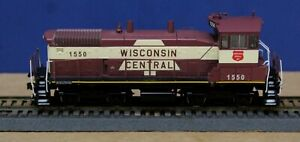 Athearn 96692 HO Wisconsin Central SW1500 Locomotive Wisconsin Central #1550 RTR