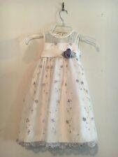 Cinderella Cream Lavender Green Floral Girls Kids Girls Dress SIZE 2T