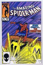 Amazing Spider-Man #267 Signed w/COA Peter David VF+ 1985 Marvel Comics