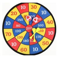 Child Fabric Dart Board Set Ball Target Game Throwing Sport Hobby XMAS Gift F8A