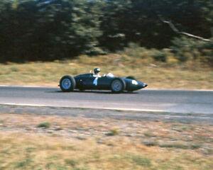 1961 BRM P48/47 GRAHAM HILL 8x10 Photo Watkins Glen Poster Print US Grand Prix
