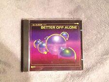DJ ALISON BETTER OFF ALONE CD DANCE SINGLE CDS MUSIC CD