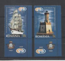 D730 Roemenie 6404/05 postfris Schepen / Vuurtorens