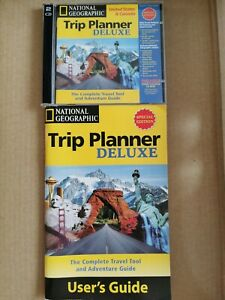 National Geographic Trip Planner USA & Canada Deluxe Special Edition