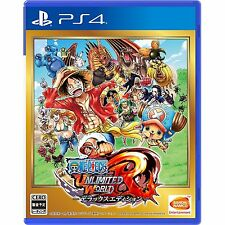 One Piece Unlimited World R Deluxe Ed SONY PS4 PLAYSTATION 4 JAPANESE VERSION