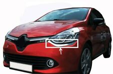 FITS: RENAULT CLIO 4 IV CHROME FRONT LAMP LIGHT Sill 2 PCS S.STEEL  2012>