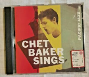 CHET BAKER SINGS Pacific Jazz Compilation Musica Collezione CD