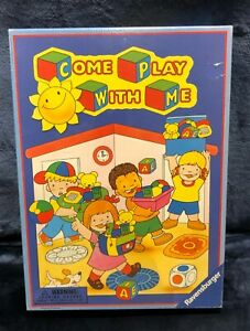 Rare Ravensburger Come Play with Me 2002 Memory Match Game NEW Sealed