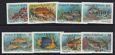 BARBUDA:1990 Reef Fishes set overprinted BARBUDA MAIL SG1195-1202 unm.mint