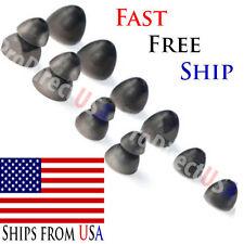 Black Replacement Eartips Earbud Ear Phones Buds Tips SHURE Earphones Headphones