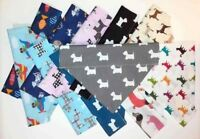 Dog Bandana Slide On Animals  Dog Pet Cat Fish Scarf XXS-L