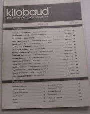 Kilobaud Microcomputing Magazine Basic Timing Comparisons October 1977 112014R
