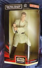 Star Wars # 43 Obi-wan Kenobi Mega Collectible, n ° 57495, sable de luz se enciende!