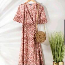 SOLD OUT! Primark Maxi Dress Boho Cute Summer Wrap Dress Blogger Wrap Size 8 S