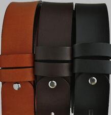 Cinturón de cuero de vaca Ancho 4,5 cm de recambio para hebilla