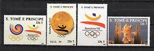 Sao Tomé and Principe : 1988 Olympic Games Seoul 88 and Barcelona 92 lot ( MNH)