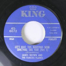 Christmas Soul 45 James Brown And The Famous Flames - Let'S Make This Christmas