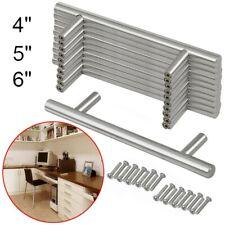 25x T Bar Knob Stainless Steel Kitchen Cabinet Pulls Cupboard Door Handle Drawer