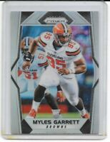 2017 Panini Silver Prizm REFRACTOR Myles Garrett RC #242 HOLO Cleveland Browns