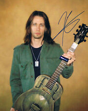 "Myles Kennedy 1969- genuine autograph photo 8""x10"" signed In Person US singer"