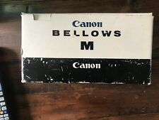 Vintage Canon Bellows M  with Instructions Booklet