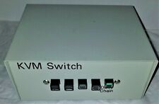 4-Port KVM PS/2 Switch With Optional Daisy Chain